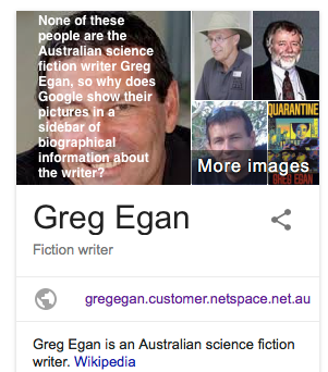 Introducing Myself Essay Google Randomly Sticks Photos Of Anyone At All Called Greg Egan Into Its  Biography Of The Gender Issues Essay also Essay Women Google The Stupidity Amplifier  Greg Egan New Essays On The Great Gatsby